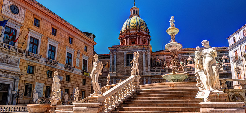 Quando andare a Palermo, clima e eventi annuali